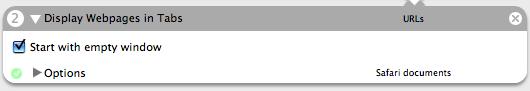 Display Webpages in Tabs UI